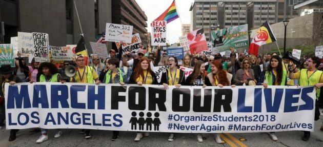 March_For_Our_Lives 命のための行進(ロサンゼルス)